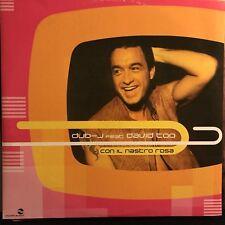 DUB-J feat DAVID TOO • Con Il Nastro Rosa • Vinile 12 Mix • MOR 0208