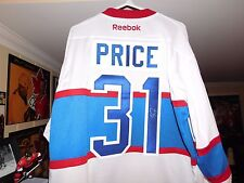 CAREY PRICE AUTOGRAPHED WINTER CLASSIC JERSEY-CERTIFICATE OF AUTHENTICITY