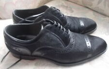 Dolce & Gabbana Mens Leather and Suede Lace up Dress shoes