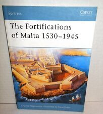 BOOK OSPREY Fortress #16 The Fortifications of Malta 1530-1945 op 2004 1st Ed