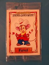 Fievel Goes West Impel 1991 3 card Promo Sample Pack SEALED