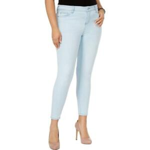 Celebrity Pink Womens Denim Mid-Rise Casual Skinny Jeans Plus BHFO 9033
