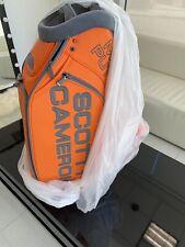 Scotty Cameron Orange Ct Staff Bag Circle T Tour