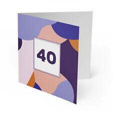 Einladung 40. Geburtstag Einladungskarten Karten runder 18 20 30 50 60 70 80