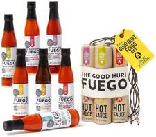 Modern Gourmet Foods, The Good Hurt Fuego Hot Sauce Sampler Gift Set, Set of 7