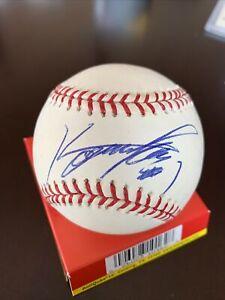 Kosuke Fukudome signed MLB Baseball JSA Cubs