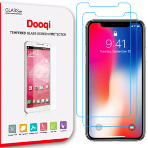 """2X For iPhone X XR XS 11 Pro Max 6.5""""/6.1''/5.8'' Anti-Blue Light Tempered Glass"""