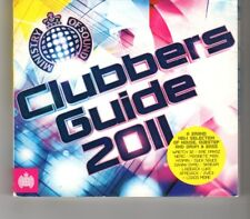 (HP569) Clubbers Guide 2011, 40 tracks various artists - 2011 double CD