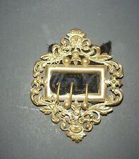 Antique Victorian Brass Shoe Buckle C. 1880's