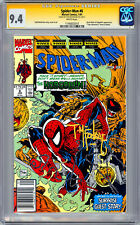 SPIDER-MAN #6 CGC-SS 9.4 *FIRST PRINT SIGNED BY ORIG ARTIST TODD MCFARLANE* 1991