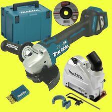 Makita Amoladora Angular a Batería DGA514ZJU1 con Campana Extractora Solo sin
