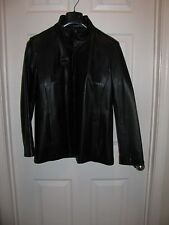 Brooks Brothers Soft Leather Black Sz Small Womens Lined