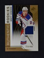2018-19 UD SP Game Used Gold Jersey Relic Rookie #135 Brett Howden /499