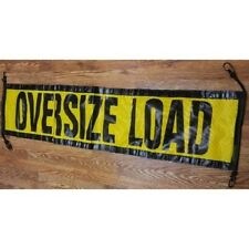 EZ Hook Oversize Load sign 18x84  heavy duty ~ Truck ~ Safety ~ Escort Pilot Car