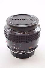 Minolta MC Rokkor 58mm f/1.2 - Legendary Lens - Massive Aperture - Amazing Bokeh