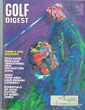 Arnold Palmer on cover - 6 Issues from Golf Magazine and Golf Digest