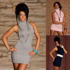Women's Cotton Blend Short/Mini Stretch, Bodycon Clubwear Dresses