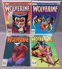 WOLVERINE #1 2 3 4 (Limited Series Full Run 1-4) Marvel Comics 1982 Frank Miller