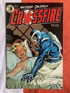 CROSSFIRE #12 DAVE STEVENS COVER MARILYN MONROE ECLIPSE COMICS