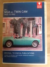 The MGA Including Twin Cam Parts& Service Publications on DVD