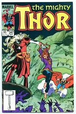 THOR #347 (1984) 1ST APPEARANCE OF ALGRIM THE STRONG