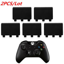 2pcs/Lot Black Cabinet Battery Back Cover Lid Door Guard for XBox One Controller