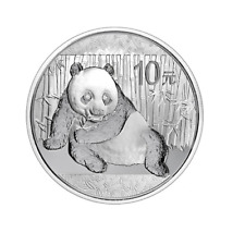 China Panda 2015 1 OZ Unze Ounce Once Silber Silver Argent Chinese