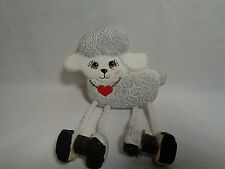 Clay Sheep Refrigerator Magnet