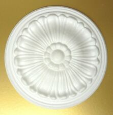 "Ceiling Rose Size 245MM (9 1/2"") - 'DAISY' Lightweight Polystyrene"