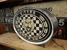 More details for jaguar,e-type,automobilia,classic,display,mancave,lightup sign,garage,workshop