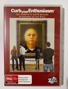 Curb Your Enthusiasm The Complete Sixth Season (2DVD, 2008)