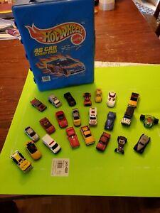 hot wheels 48 car carry case