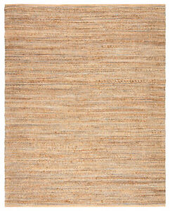 """Jaipur Living Canterbury Natural Solid Beige/ Blue Area Rug (3'6""""X5'6"""")"""