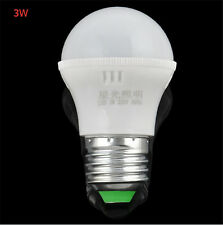 E27 3W Energy Saving LED Light Bulb Lamp Cool White AC 110V 220V Bright New