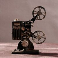 Retro Vintage Movie Projector Model For Shop Window For Home Living Room Decor