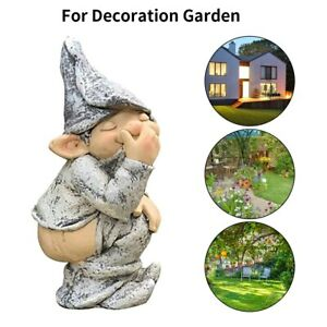 Doll Ornament Craft Garden Resin Simulation Statue Yard Ornament for Home Office
