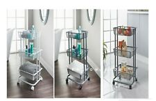 Spaceways 3 Tier Storage Trolley Perfect for use in the Kitchen and Bathroom