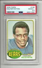 WALTER PAYTON RC 1976 TOPPS #148 ROOKIE CHICAGO BEARS GRADED PSA 2.5