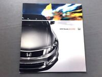 2010 Honda Accord 36-page Dealer Sales Brochure - Coupe and Sedan