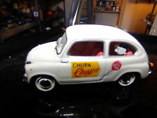 voiture miniature 1/43  SOLIDO   SEAT 600    1963 CHUPA-CHUPS