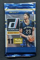 2016-17 Panini Donruss NBA Basketball (1) Factory Sealed Retail Pack - 11 Cards