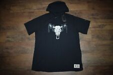 Under Armour Men's Project Rock Charged Cotton Hoodie 1719 Size XL (Black) NWT