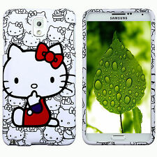 Hard Case Back Cover  for Samsung Galaxy Note 3 III Skin Hello Kitty