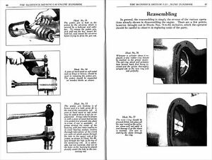 1910s McCormick-Deering GAS ENGINE Handbook NEW reprint