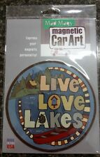 Mad Magnets – Live Love Lakes - Car, Fridge, Bumper, Mailbox, Locker
