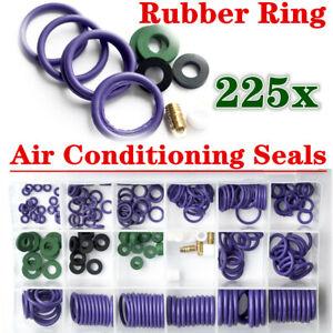 225x Conditioning Sealing Rubber Ring set Car Air Refrigerant Trim Repair Set
