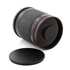 Super Telephoto 500mm f/8 Mirror Lens for Canon EOS Rebel 600D 1100D 1000D 550D