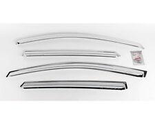 Chrome Window Sun Visor Vent 4p For 10 11 12 13 14 Hyundai Tucson ix35