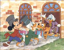 Lesotho 1983 DISNEY Christmas/Scrooge m/s ref:n14474