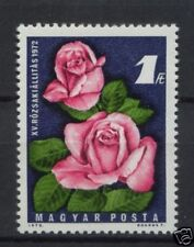 Hungary 1972 Rose Exhibition Flowers MNH